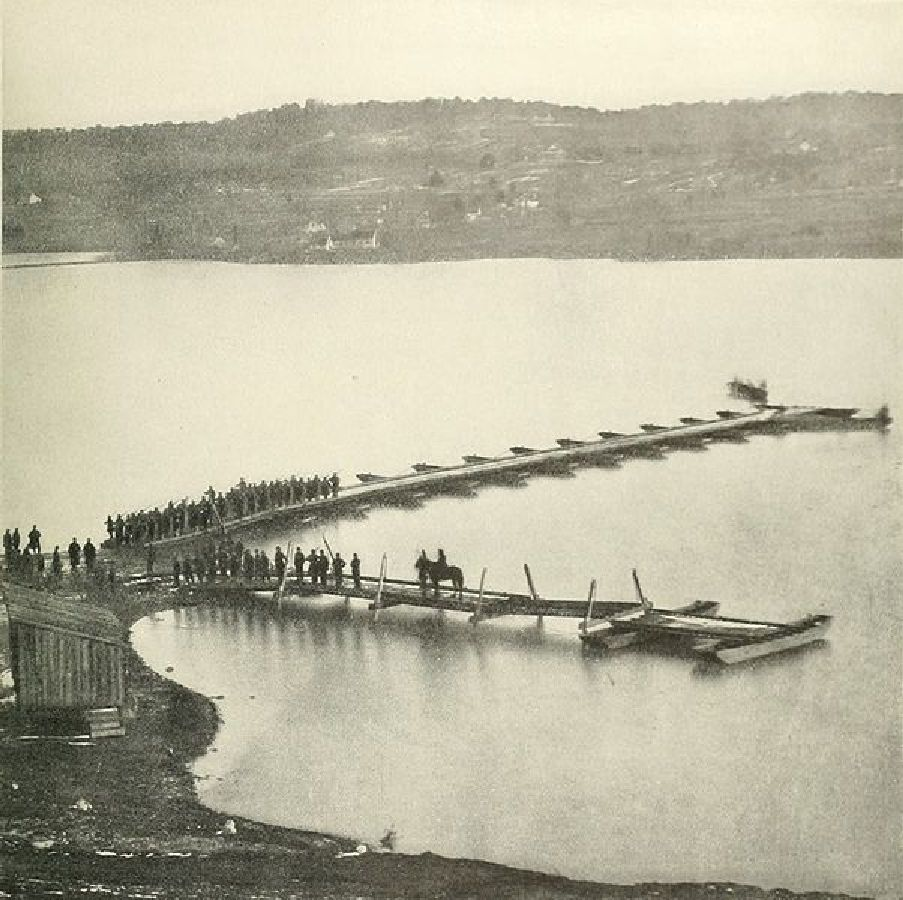 acquia or aquia landing around 1863