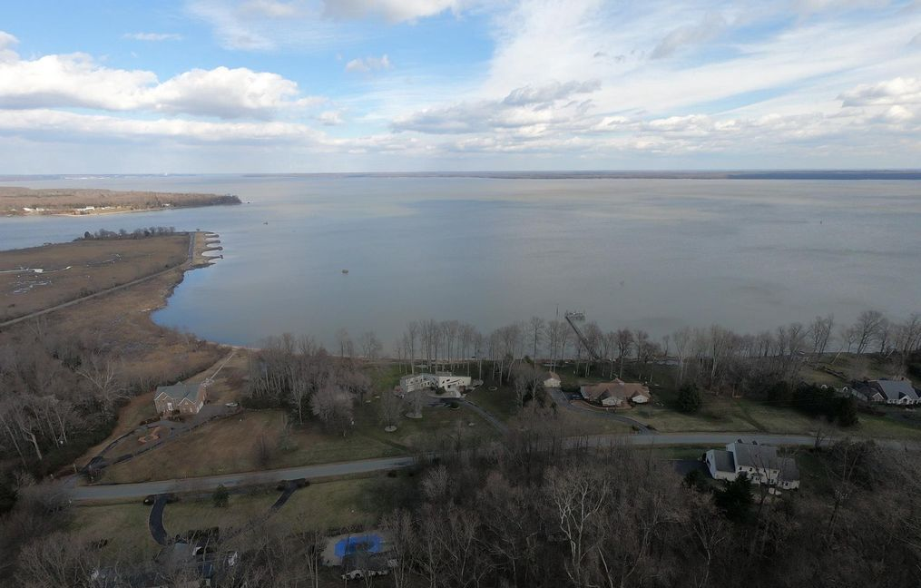 More Scenic Views of Potomac River and Beaches At Aquia Landing Parkwaterfront home for sale by owner marlborough point, stafford va 22554