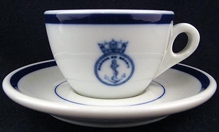 brazilian navy officer's wardroom china