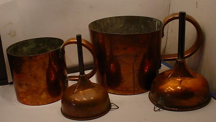 royal navy copper funnels and measures