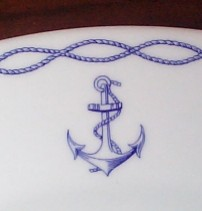 french navy anchor topmark