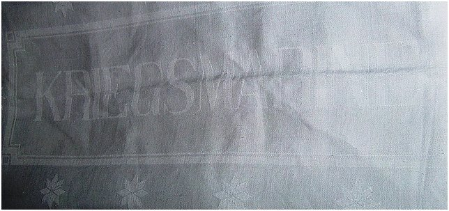 kriegsmarine tablecloth