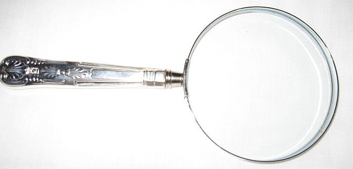 US Navy Kings Design Cheese Magnifying Glass 3 Power