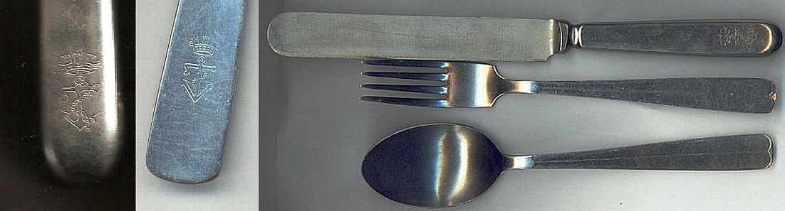 royal italian navy stainless 1960s flatware