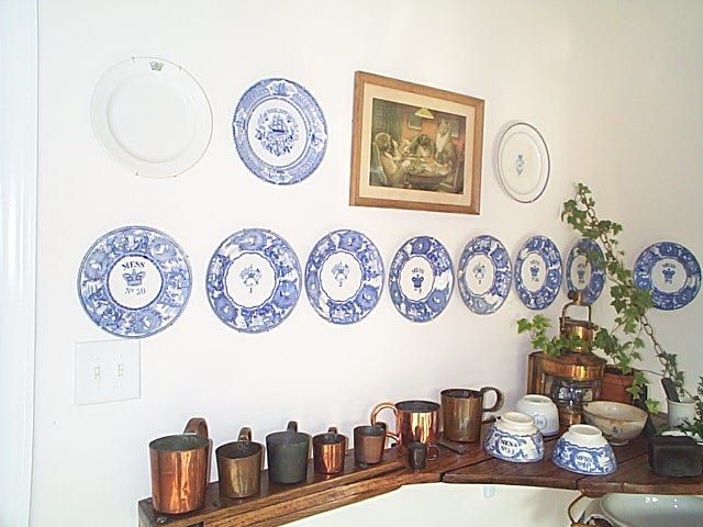 british royal navy 19th and pre-WWII dinnerware