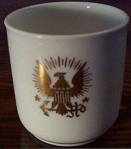 Navy Seal used on a Demitasse Cup dated 1894