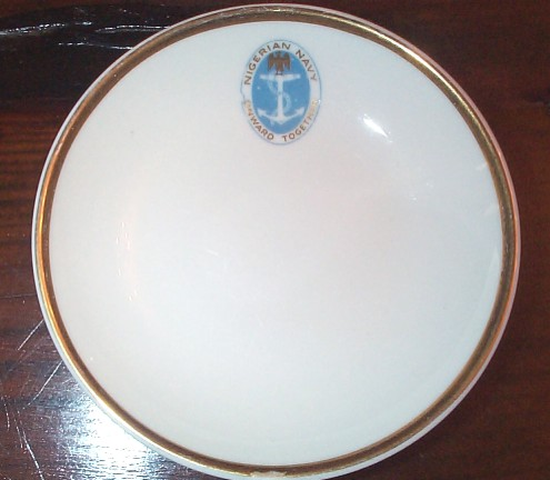 nigerian navy officer's wardroom china