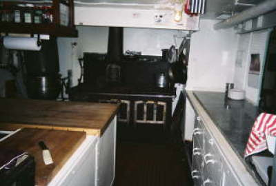 Jeremiah Obrien Mess Deck Galley