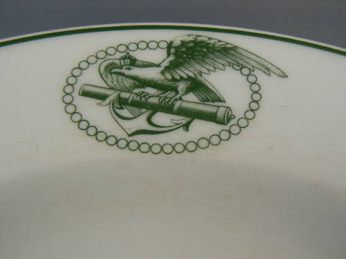 Prussian navy soup bowl