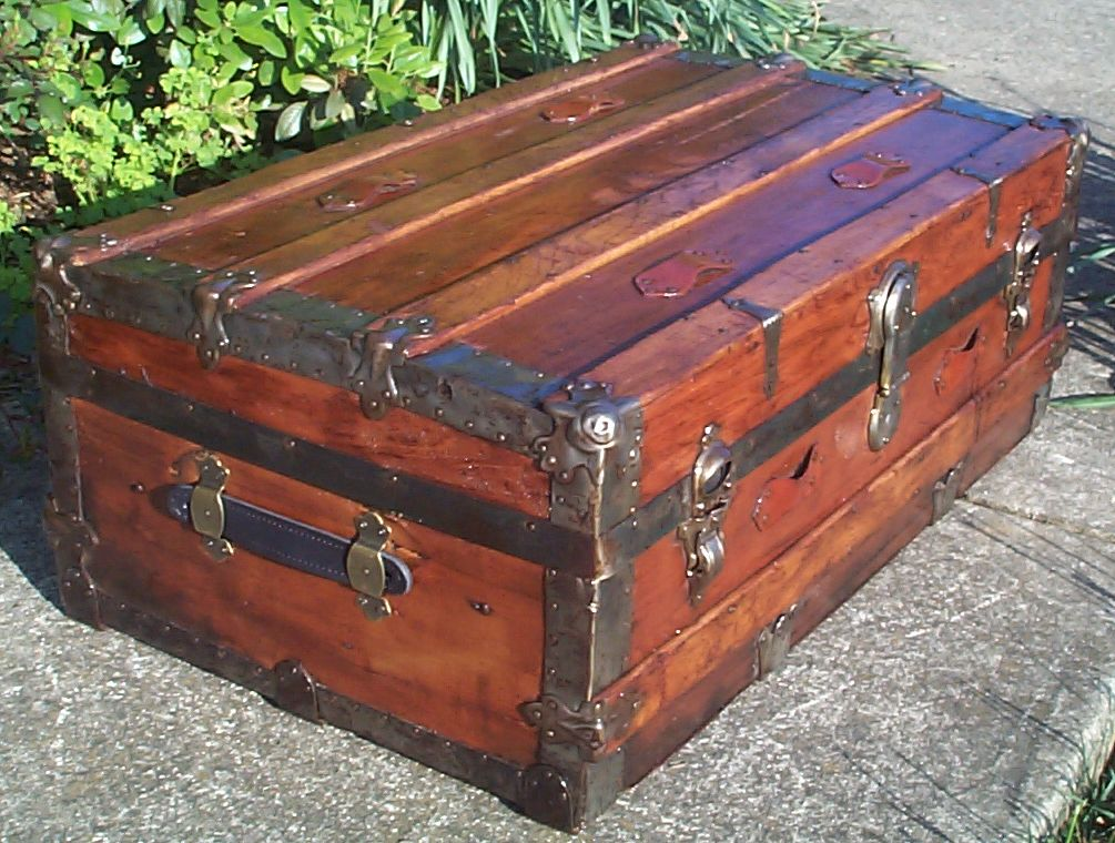 646 Restored Antique Trunks For Sale Available 540 659 6209