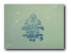 ca 1930's-1946 ww2 russian navy dinner plate bottom mark