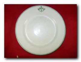 ca 1930's-1946 ww2 russian navy dinner plate