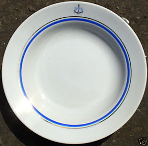 ww2 russian navy dinner plate